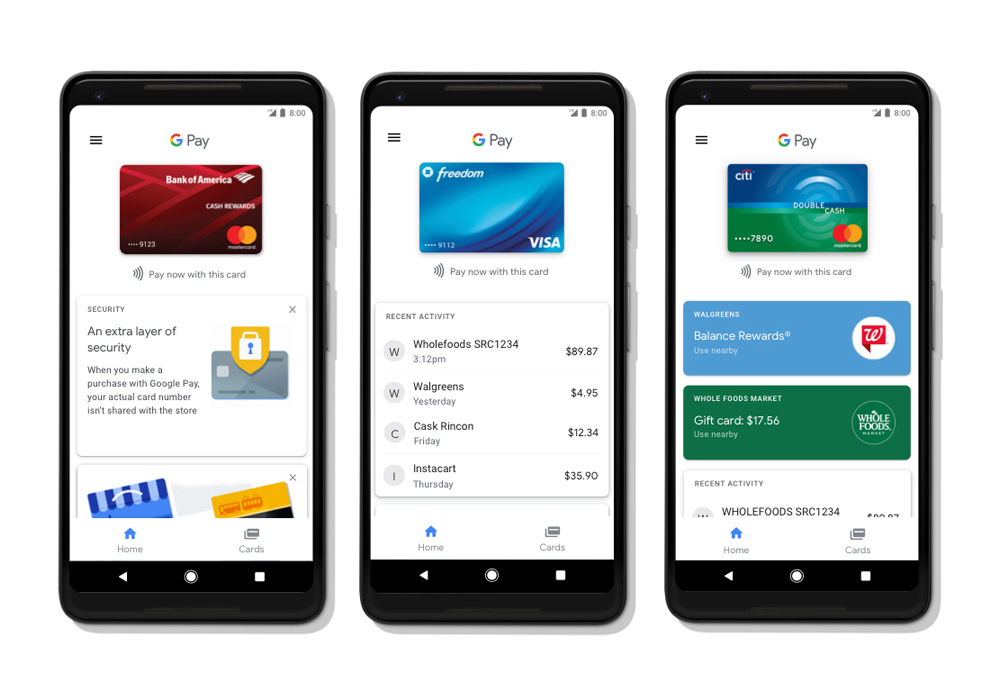 Google Pay - Say hello to a better way to pay, by Google
