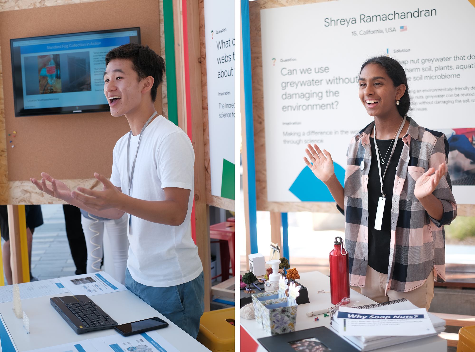 Students changing the world—this year's Science Fair winners