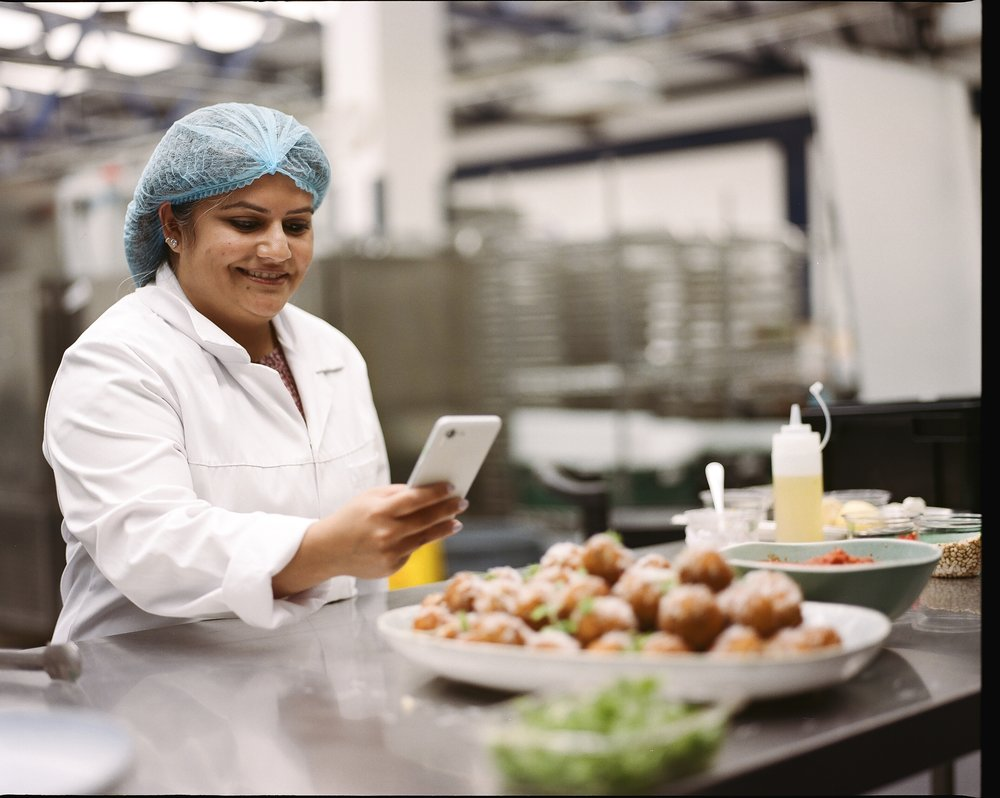 Swati Deshpande, part of the team at Fooditude