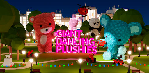 An image from the game Giant Dancing Plushies
