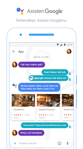 Google Assistant in Bahasa Indonesia