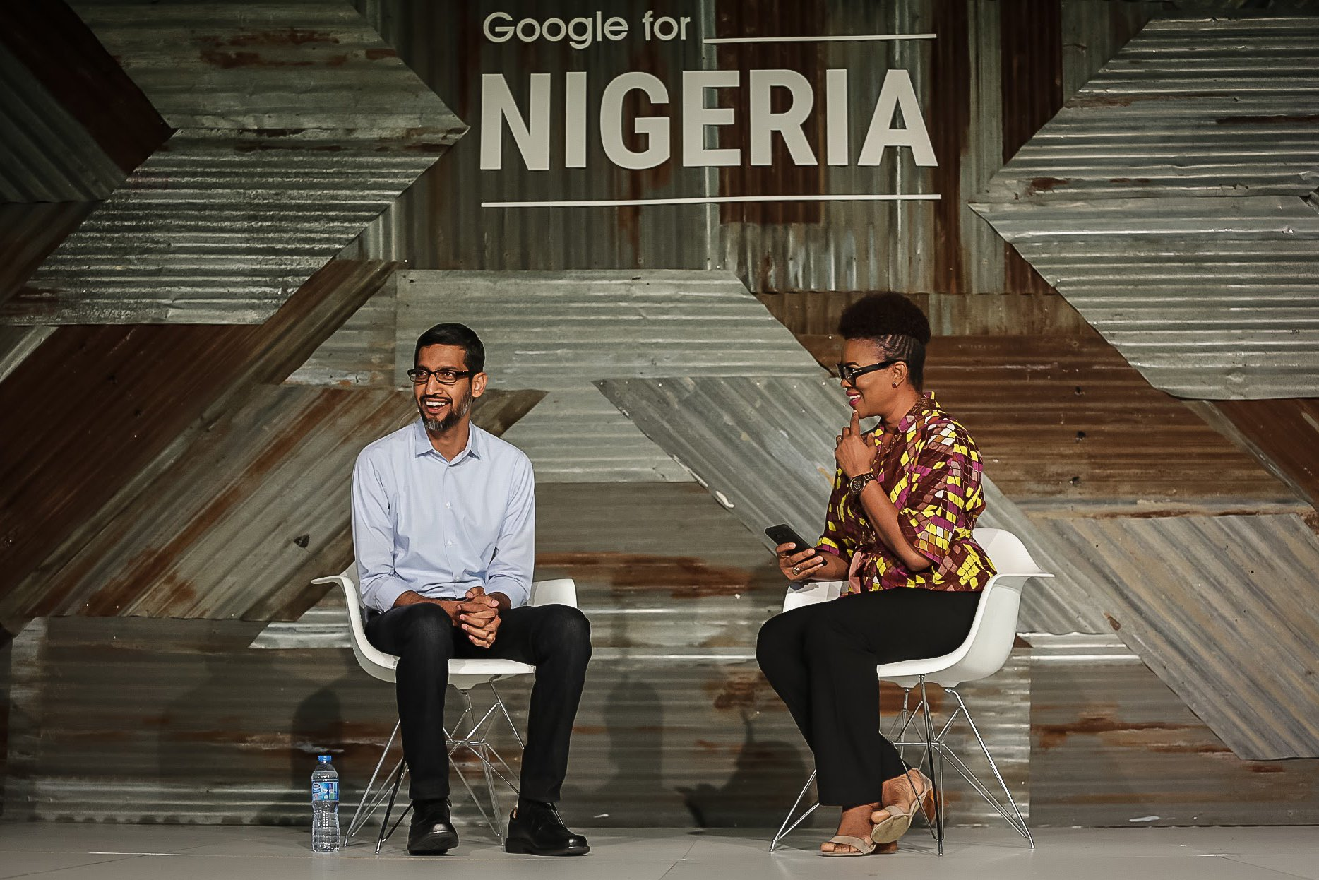 Google for Nigeria - Sundar