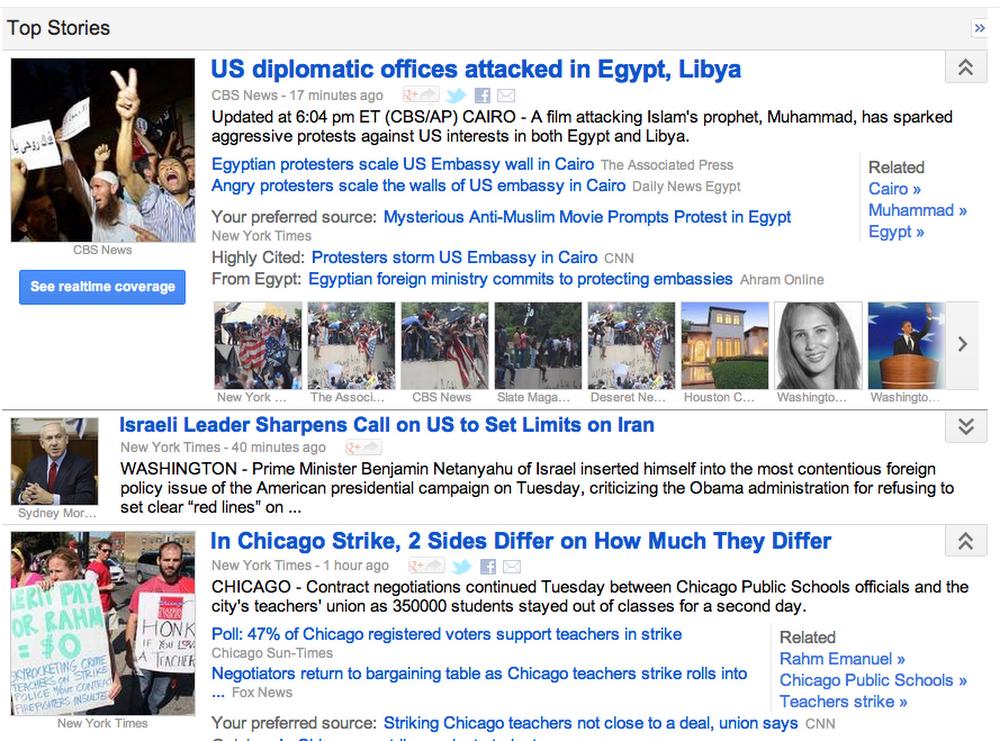 Google News today