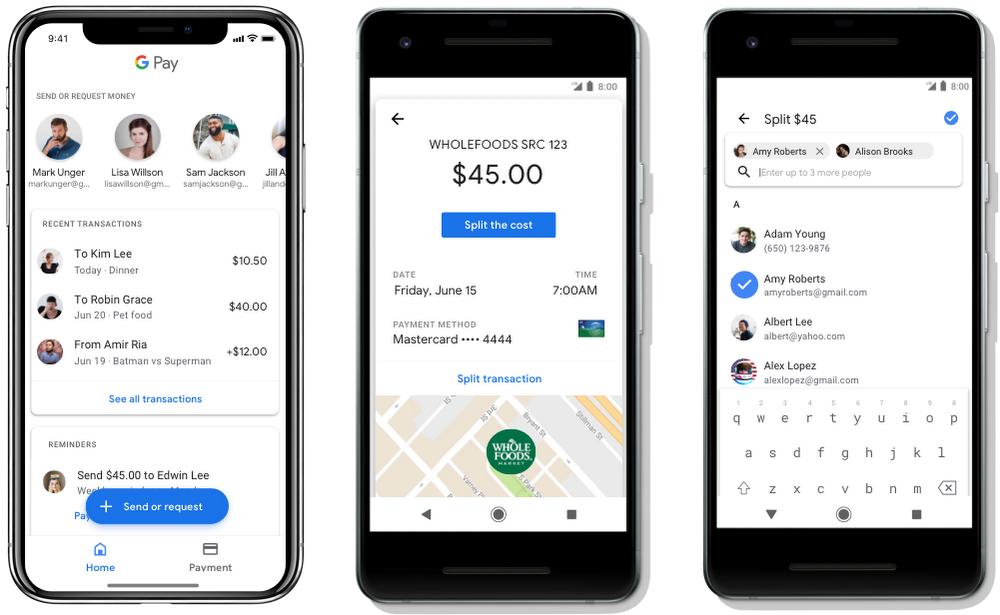 Send & Request Money with Google Pay