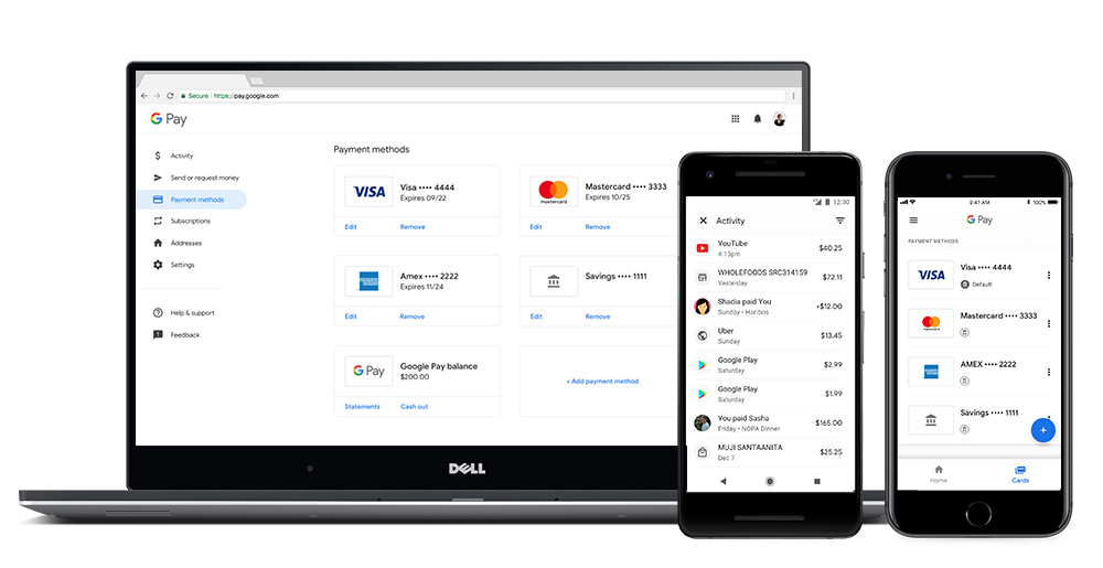 Google Pay – Manage your Info