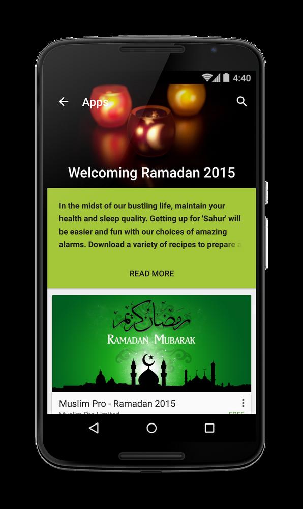 Google Play Ramadan