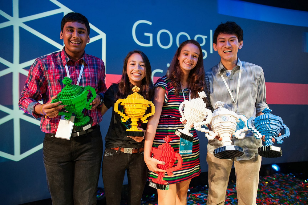 Google Science Fair 2013 winners