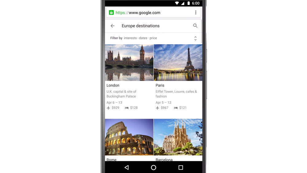 New ways to plan your vacation on the go