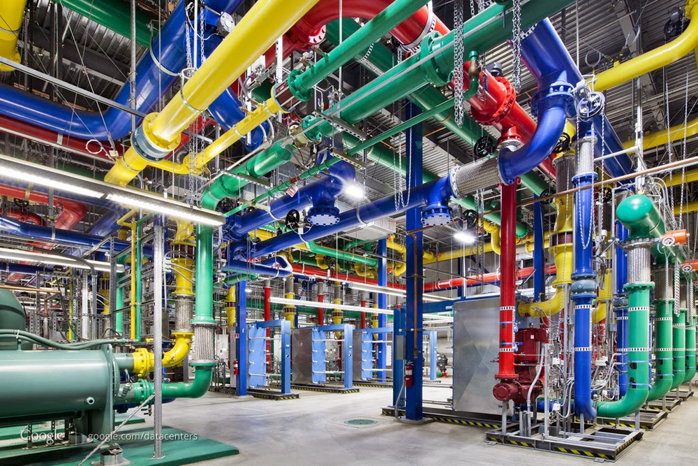 Google datacenter tech