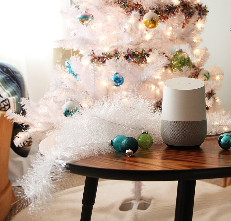 Google) Home for the Holidays