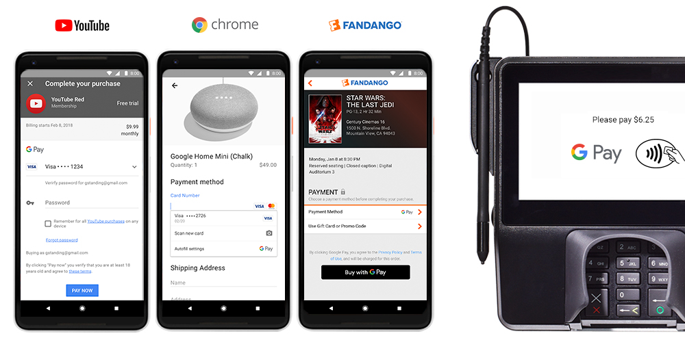 Google Wallet et Android Pay fusionnent sous Google Pay