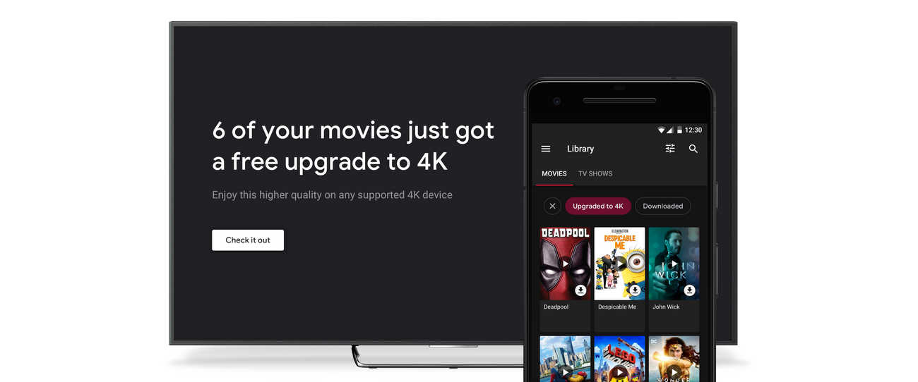 More 4K, more fun with Google Play Movies & TV