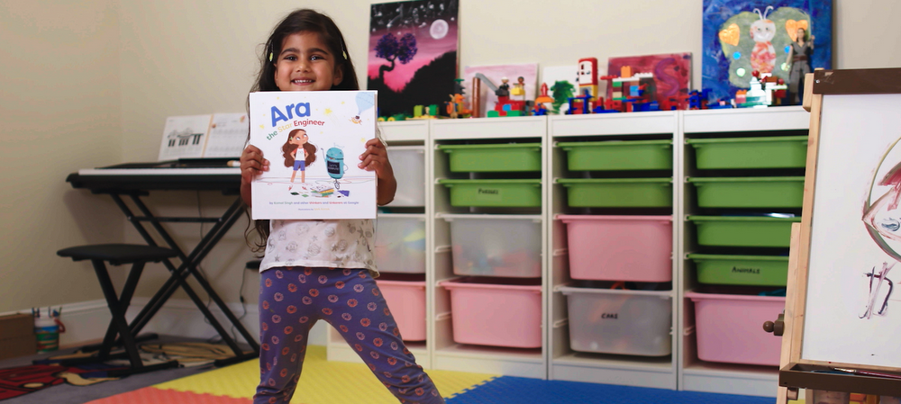 Ara The Star Engineer, a STEM book on a mission