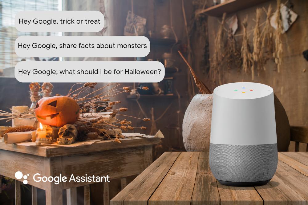 Google Assistant Halloween