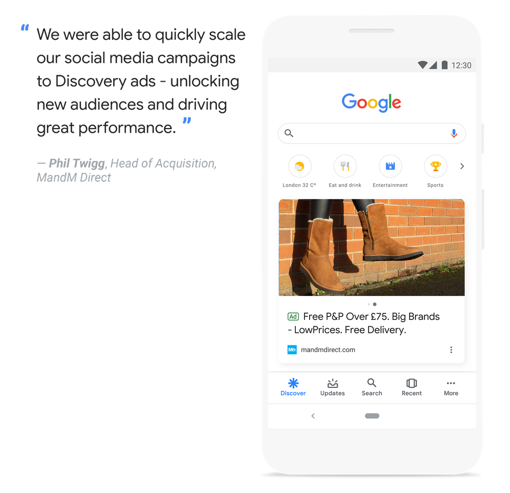 Google Discovery  - MandM Direct Quote.png