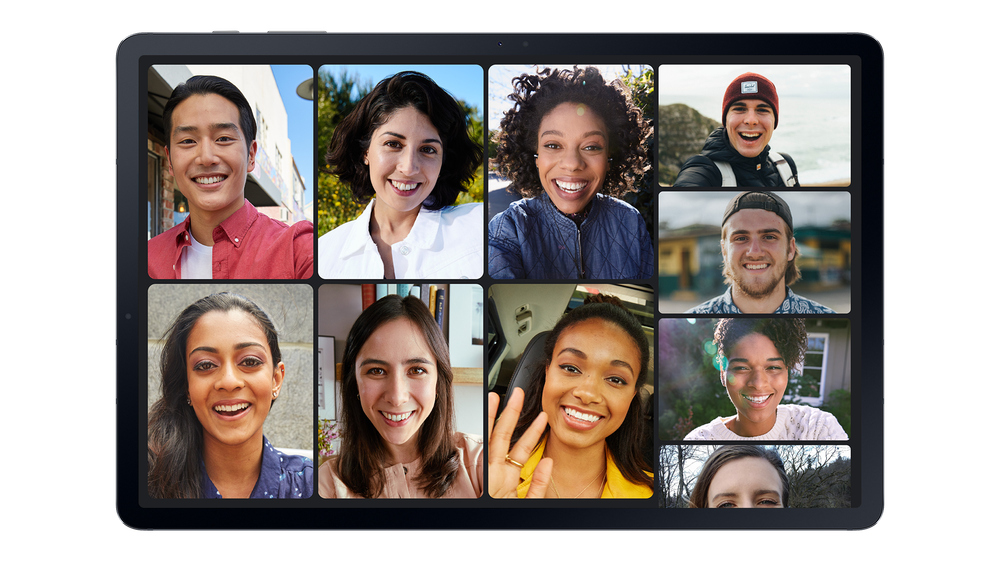 Connect with up to 32 people using Google Duo.