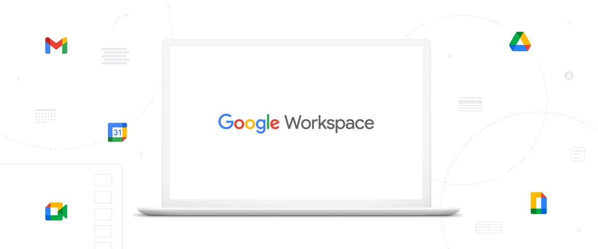 Google Workspace blog header