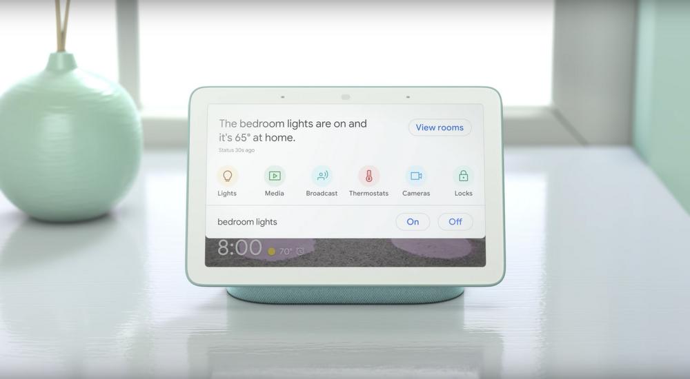 Meet Google Home Hub