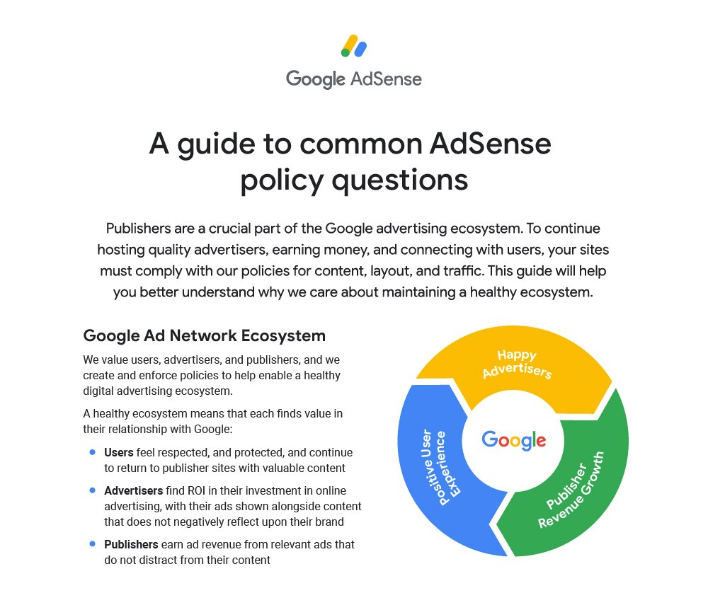Google digital advertising ecosystem