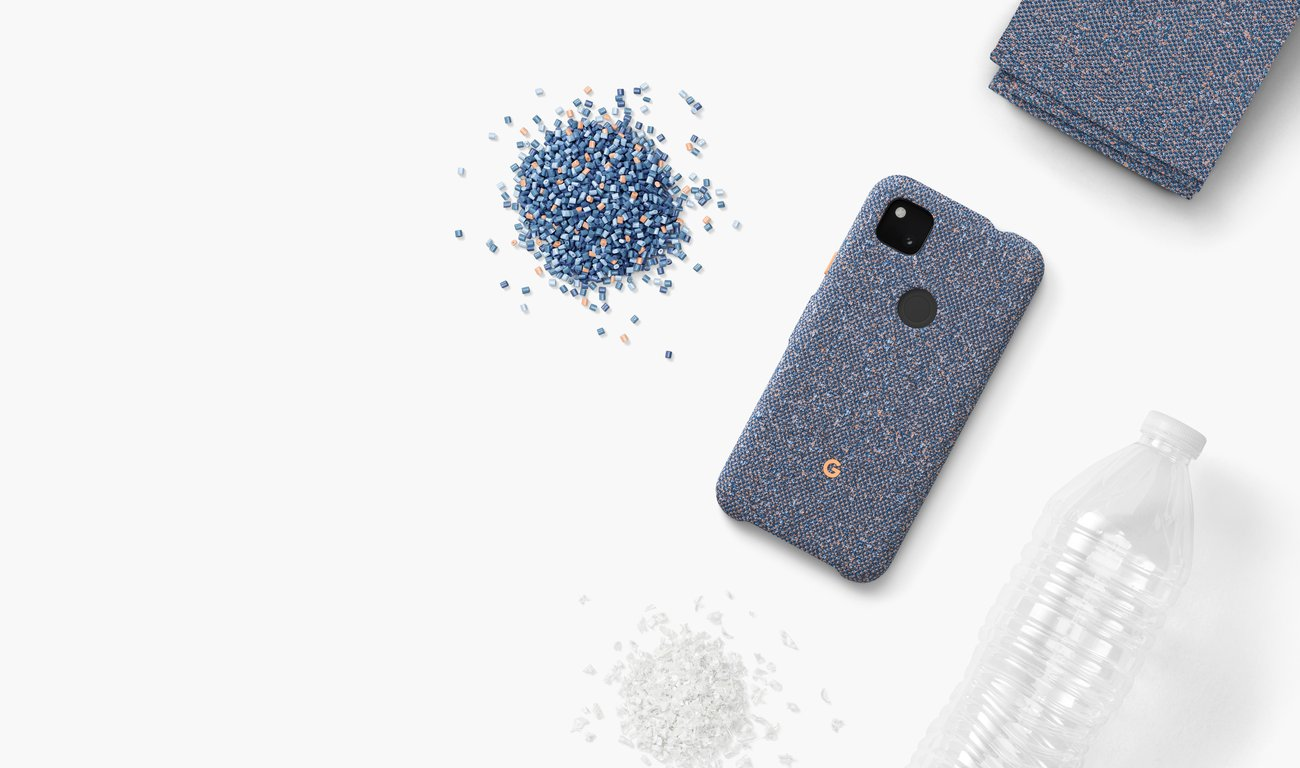 Recycled style: Introducing the Pixel 4a case