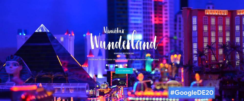 Headerbild zum Blogpost Mit #MiniView die weltgrößte Modelleisenbahn in Street View erkunden