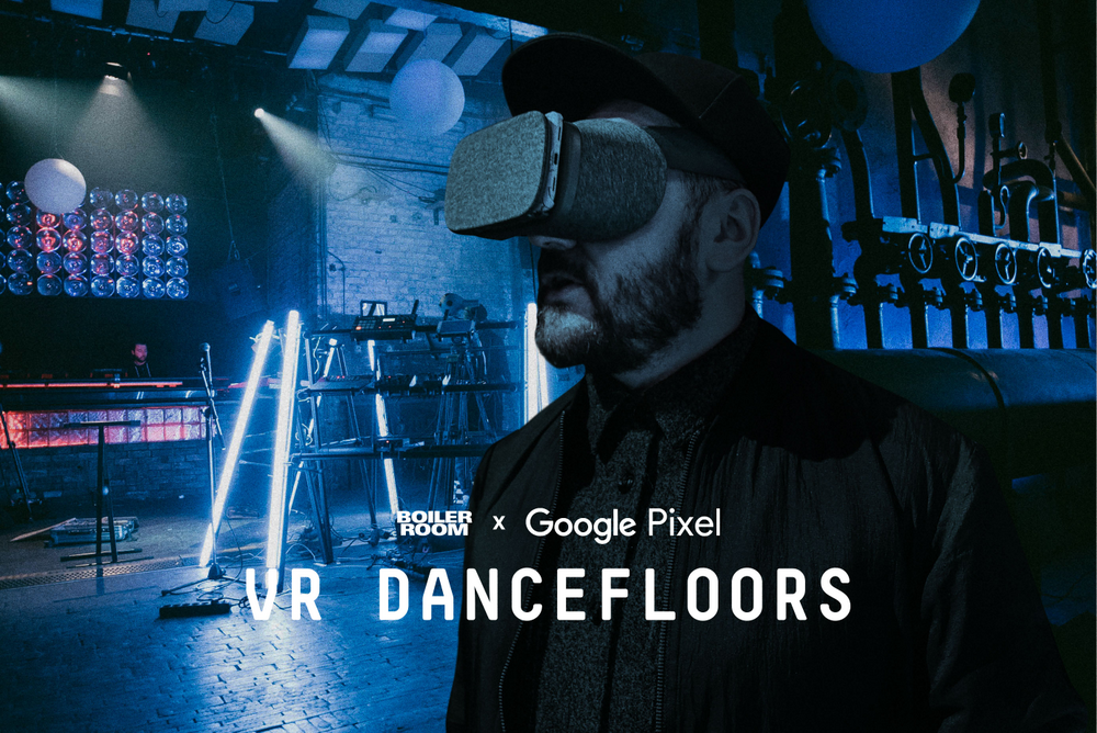 VR dancefloor hero