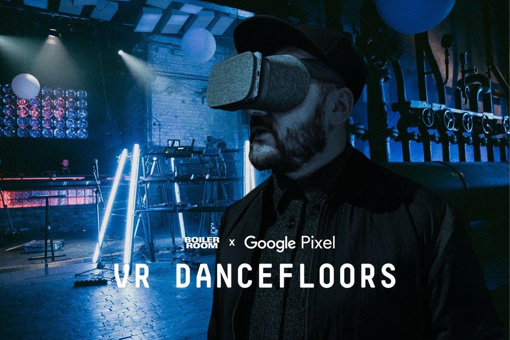 VR dancefloor hero