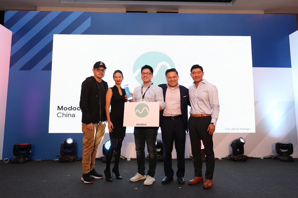 Modoo at Demo Day Asia 2019