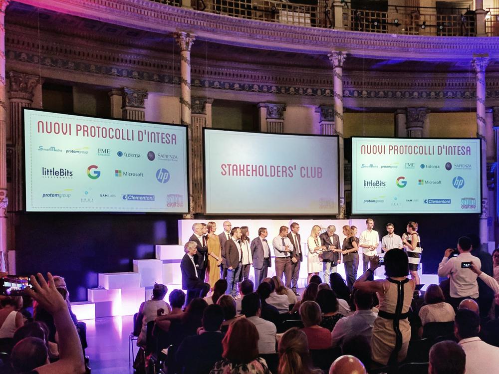 Italian digital skills in schools launch