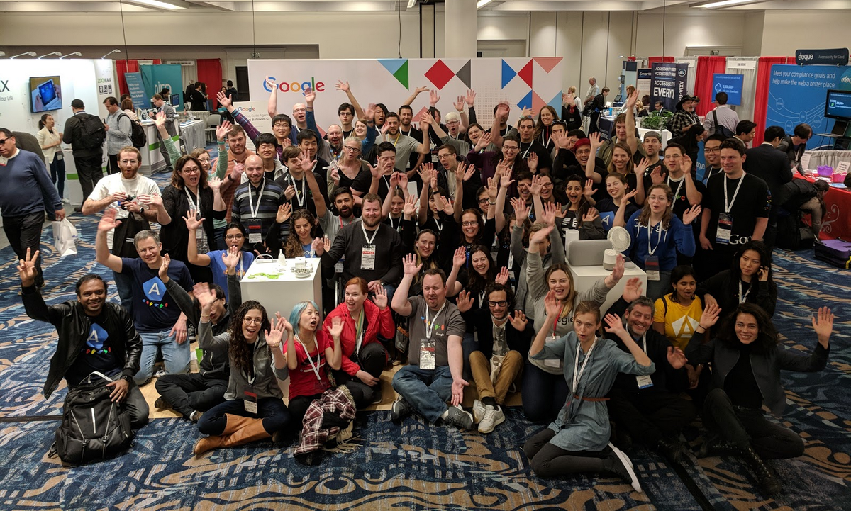 Members of Google's Central Accessibility Team