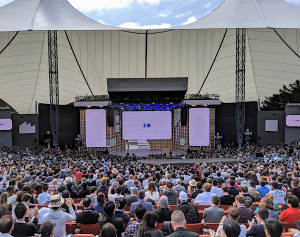 Crowd at Google I/O