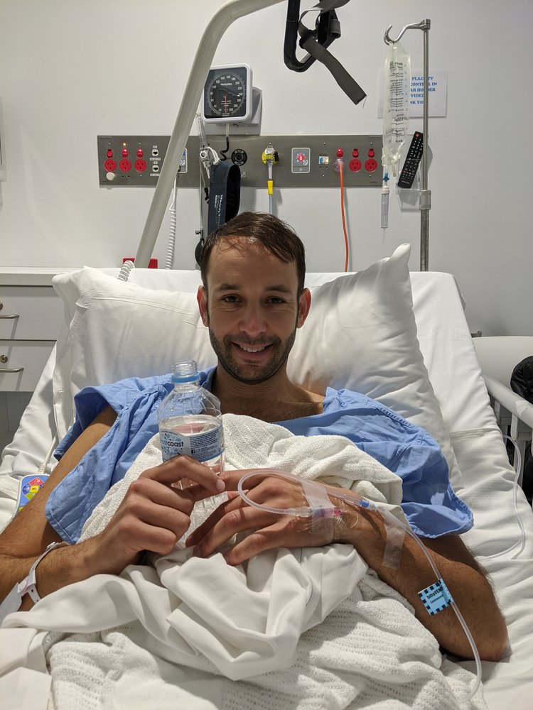 Joel after treatment