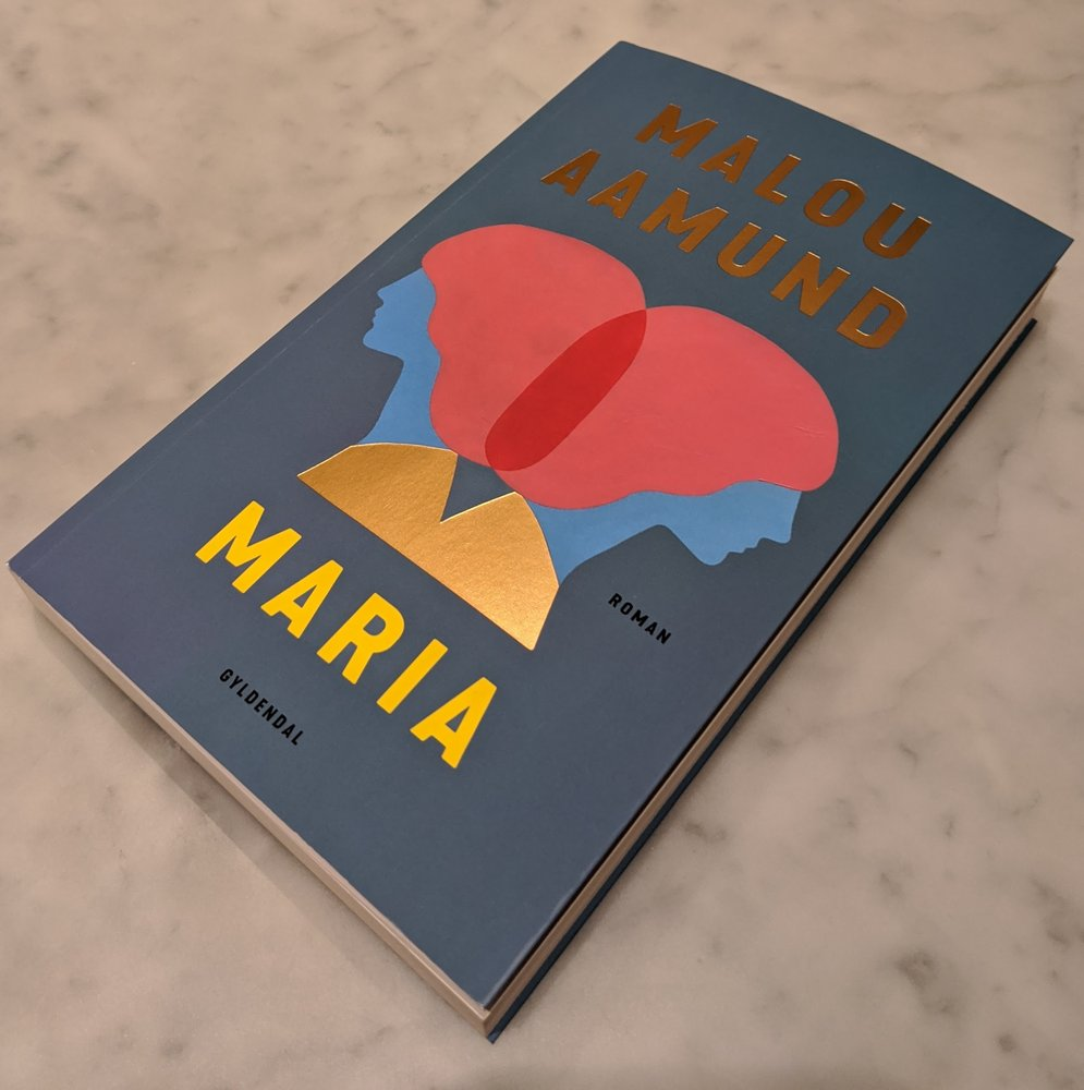 cover of malou aamund's book maria