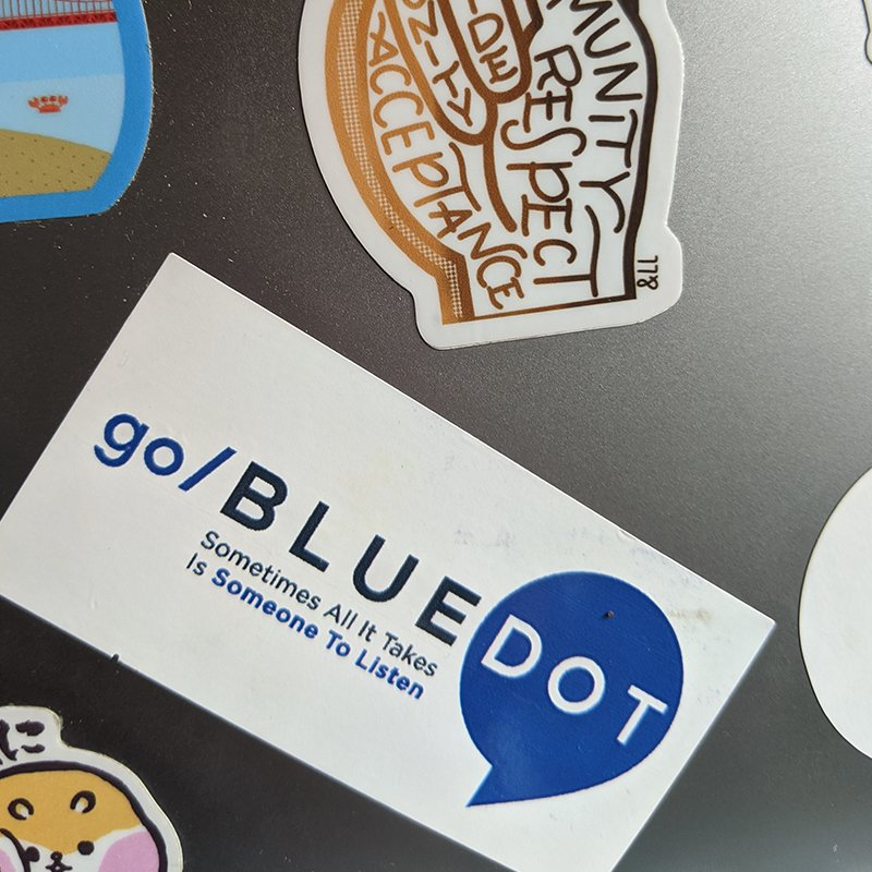 The big story behind a little Blue Dot