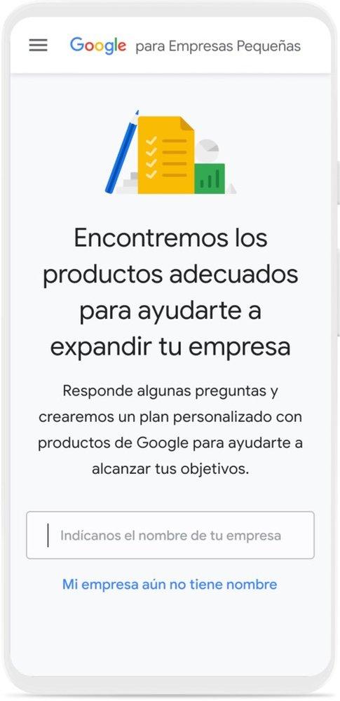 Google para Empresas Pequeñas