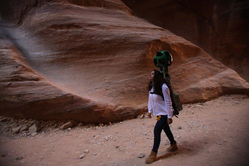 Zain in Petra 2