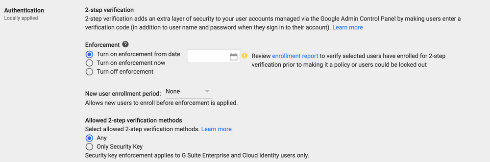 g suite security