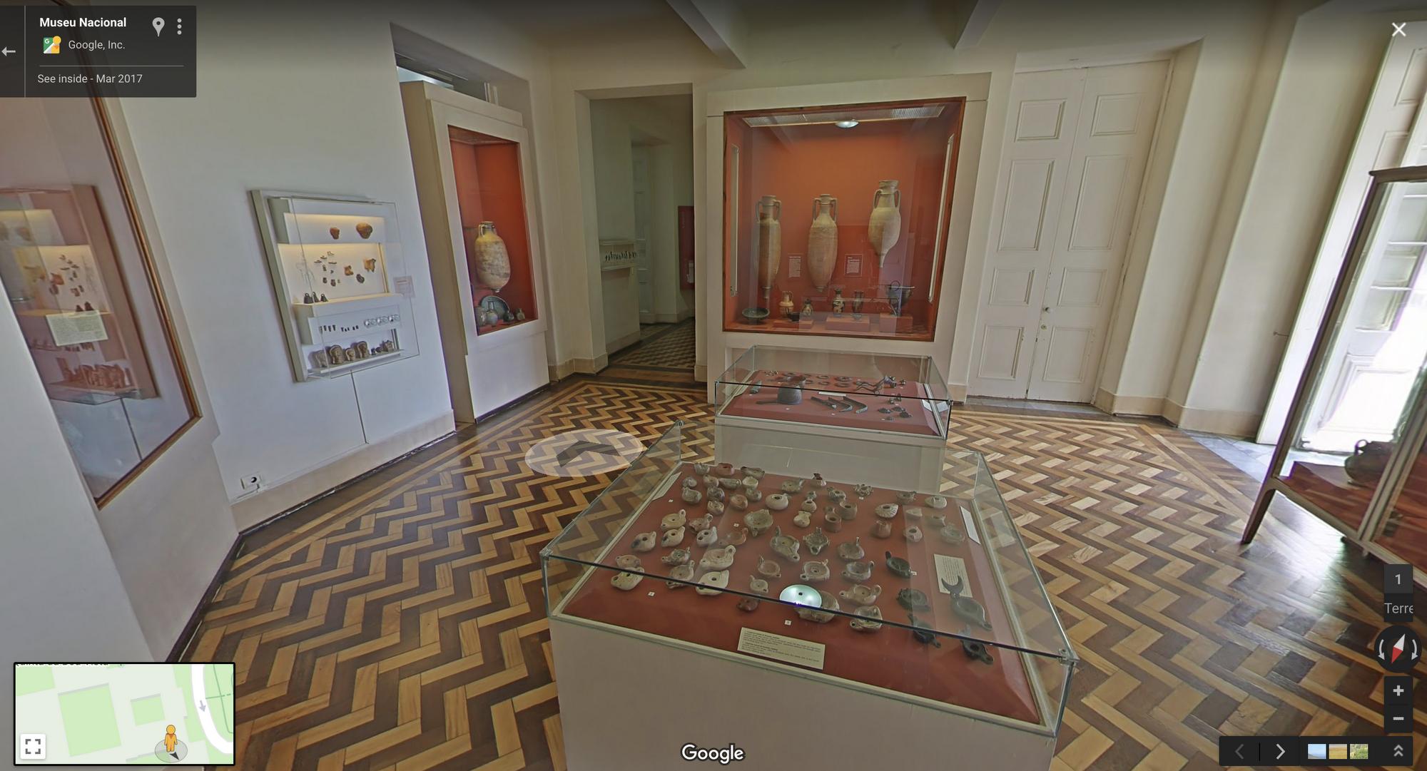 Inside Brazil's National Museum on Google Arts & Culture