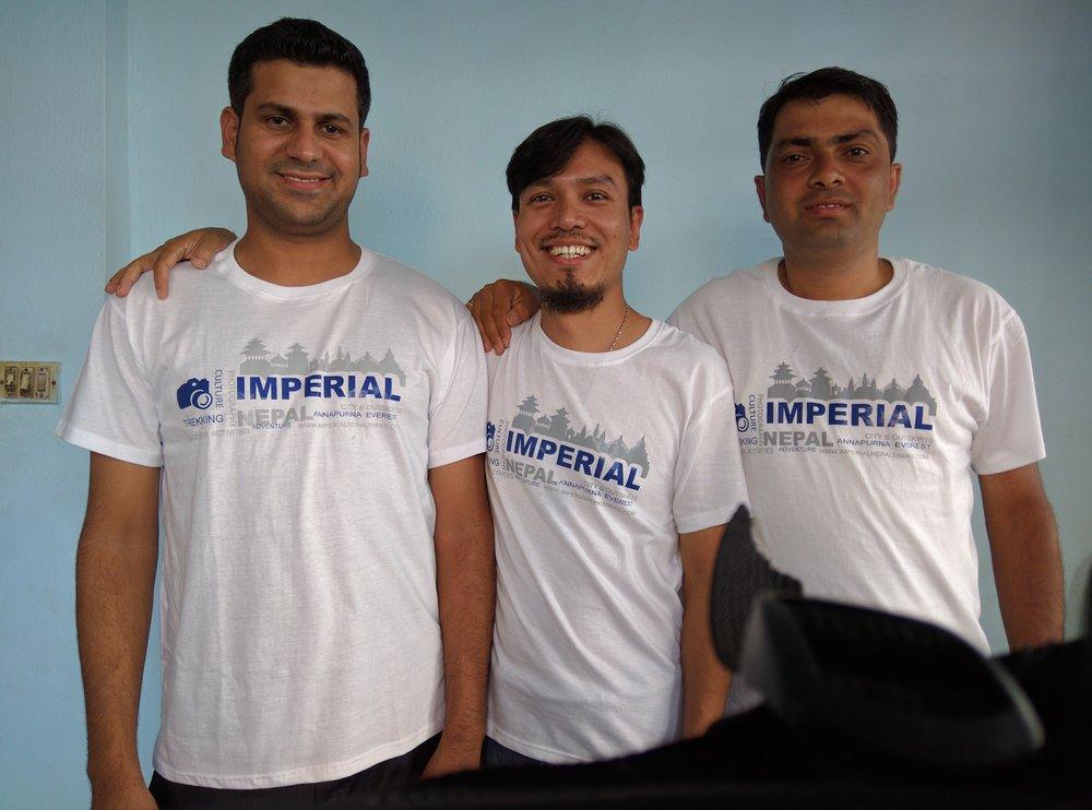 Imperial Nepal Treks' partners