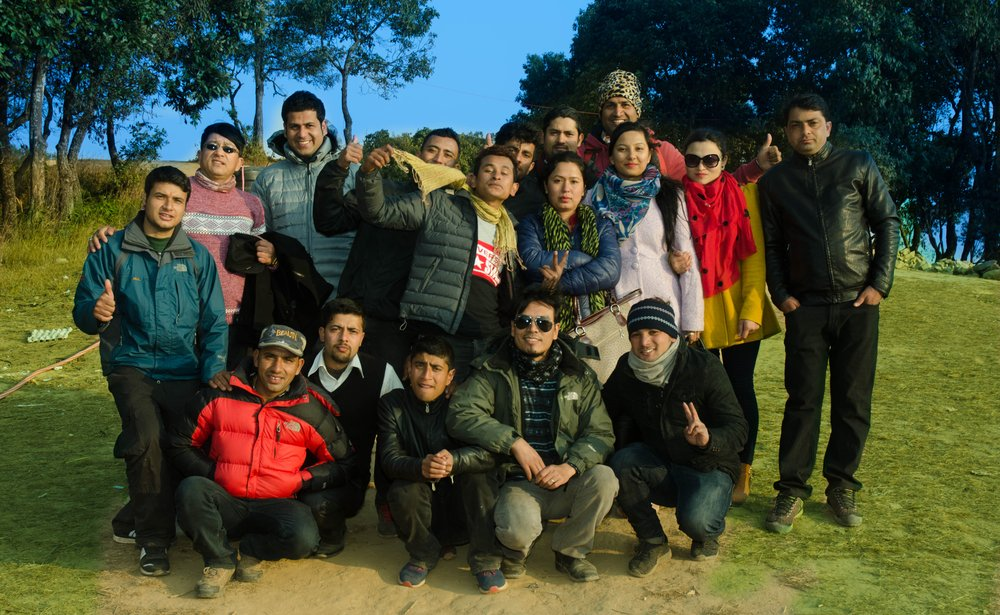 Imperial Nepal Treks team