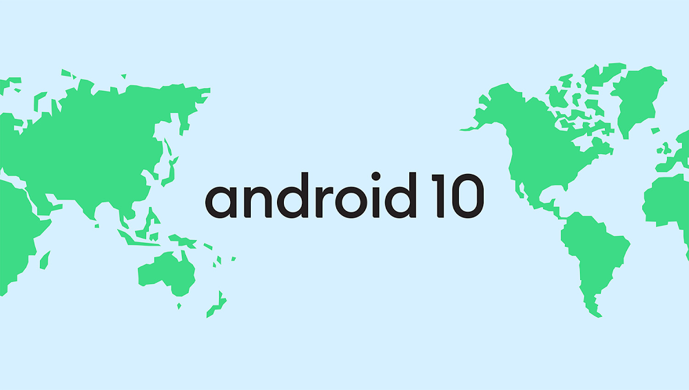 Android 10 with map