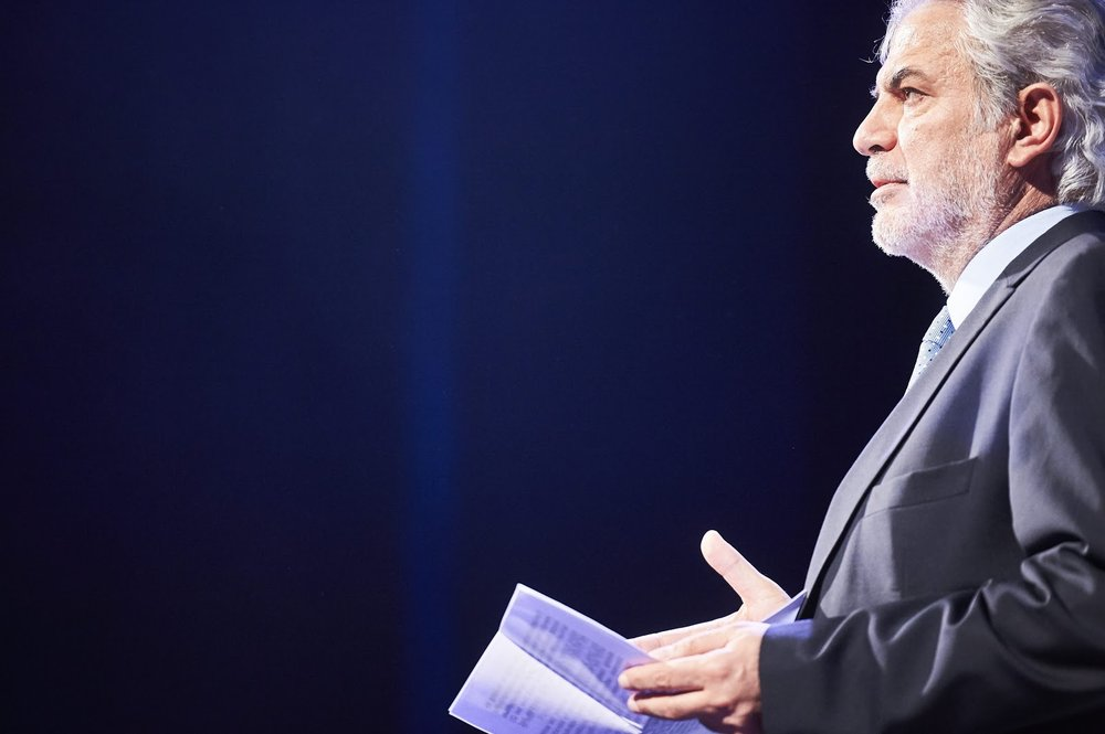 Commissioner Christos Stylianides speaks at Europe on Stage about the power of arts and culture
