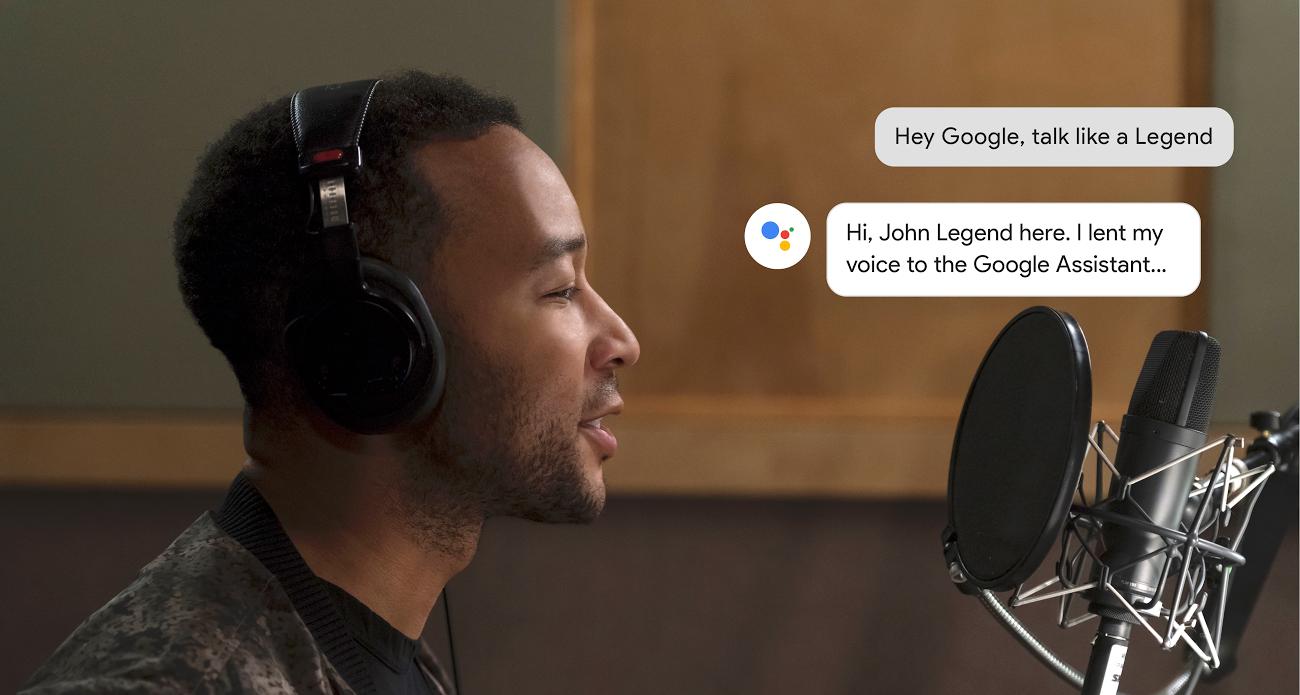 Hey Google, talk like a Legend