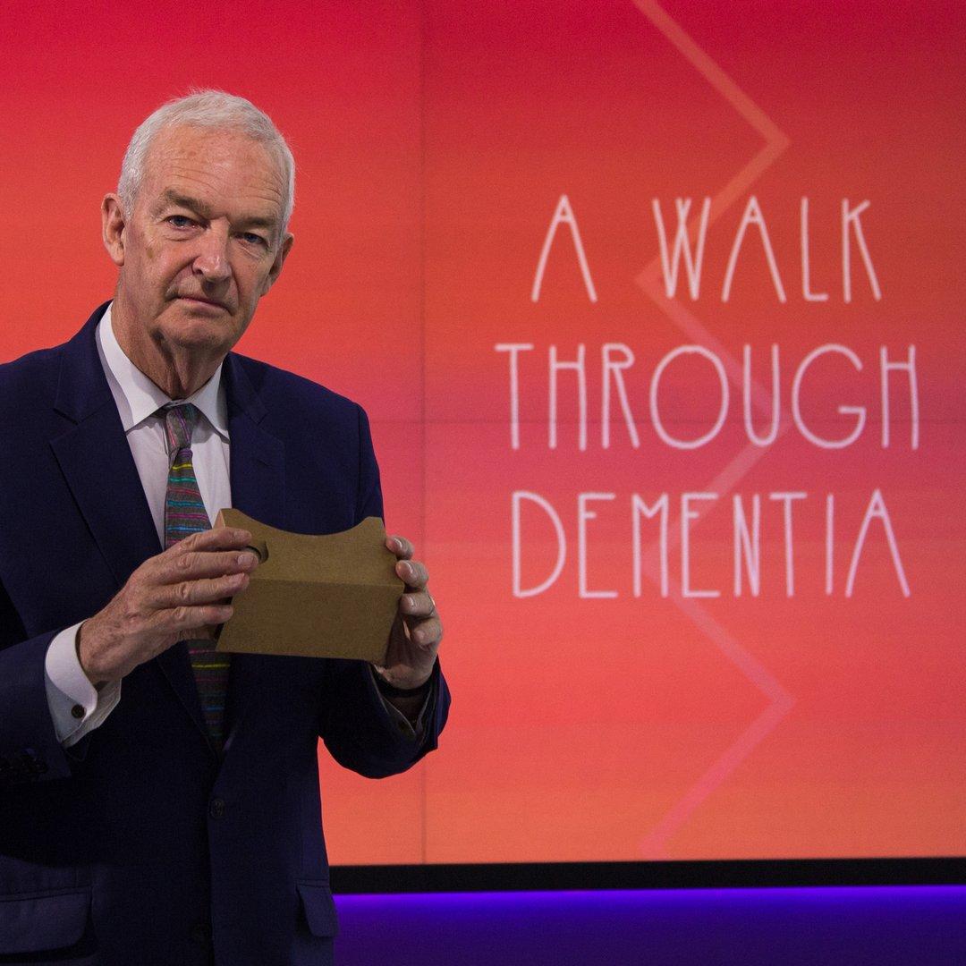 "Jon Snow introduces ""A Walk through Dementia"""