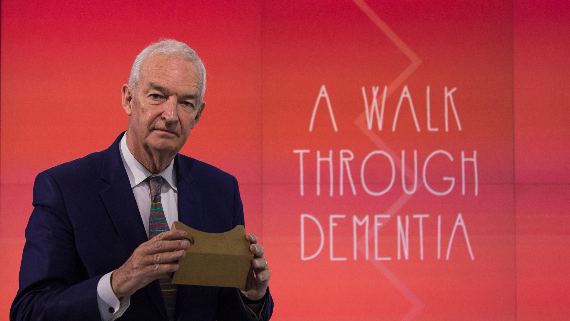 "Jon Snow introduces ""A Walk through Dementia"""