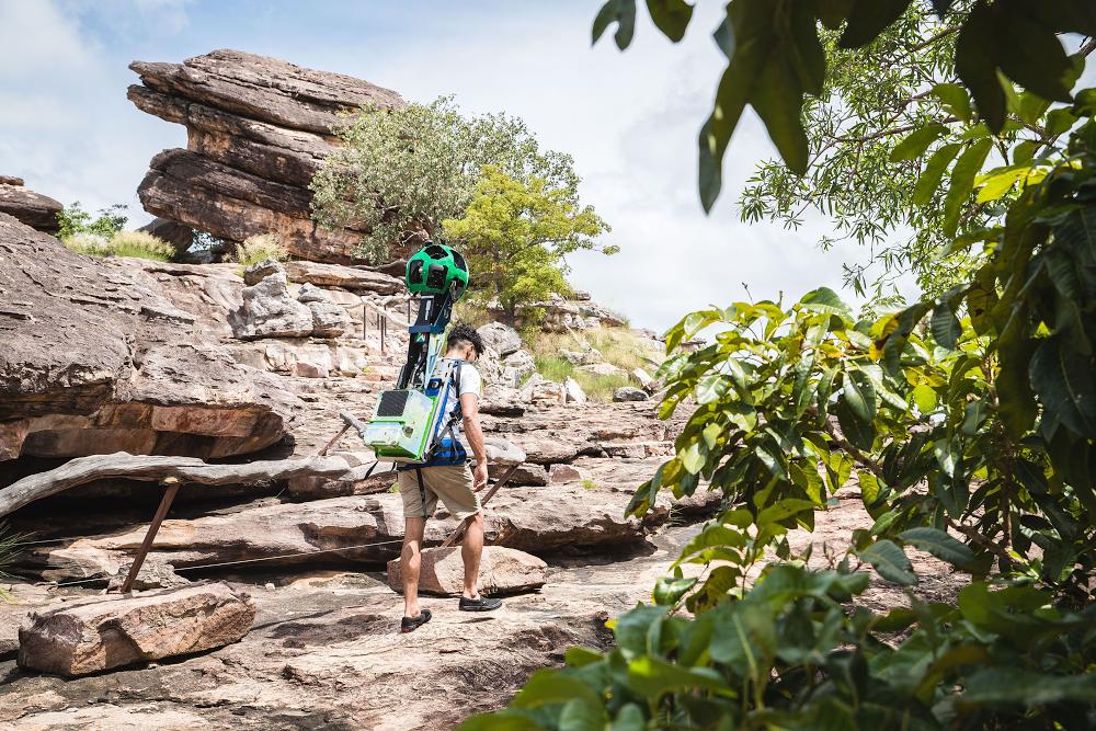 Take a walk through Kakadu on Google Street View