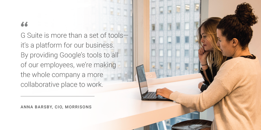 Keep calm and collaborate on: how UK businesses connect remote workers with G Suite and GCP