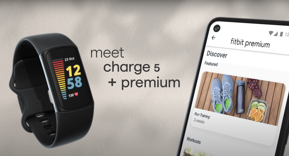 Video highlighting Fitbit Charge 5, an advanced health and fitness tracker