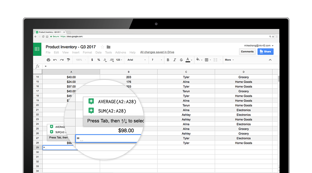 Pivot to the cloud: intelligent features in Google Sheets help businesses uncover insights