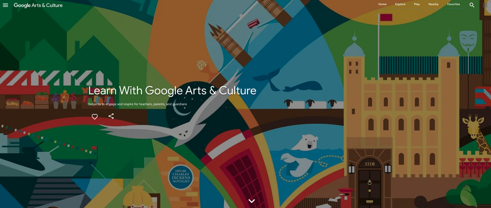 Learn with Google Arts & Culture, London Stories by Julia Allum, 2018, London Transport Museum